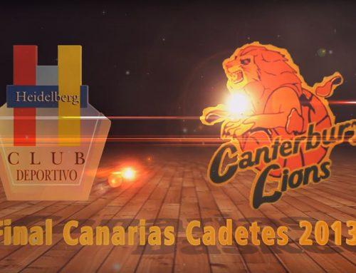 Final Campeonato de Canarias Cadete masculino 2013