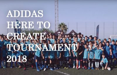 Adidas Here to Create Tournament 2018 - Intersport Canarias